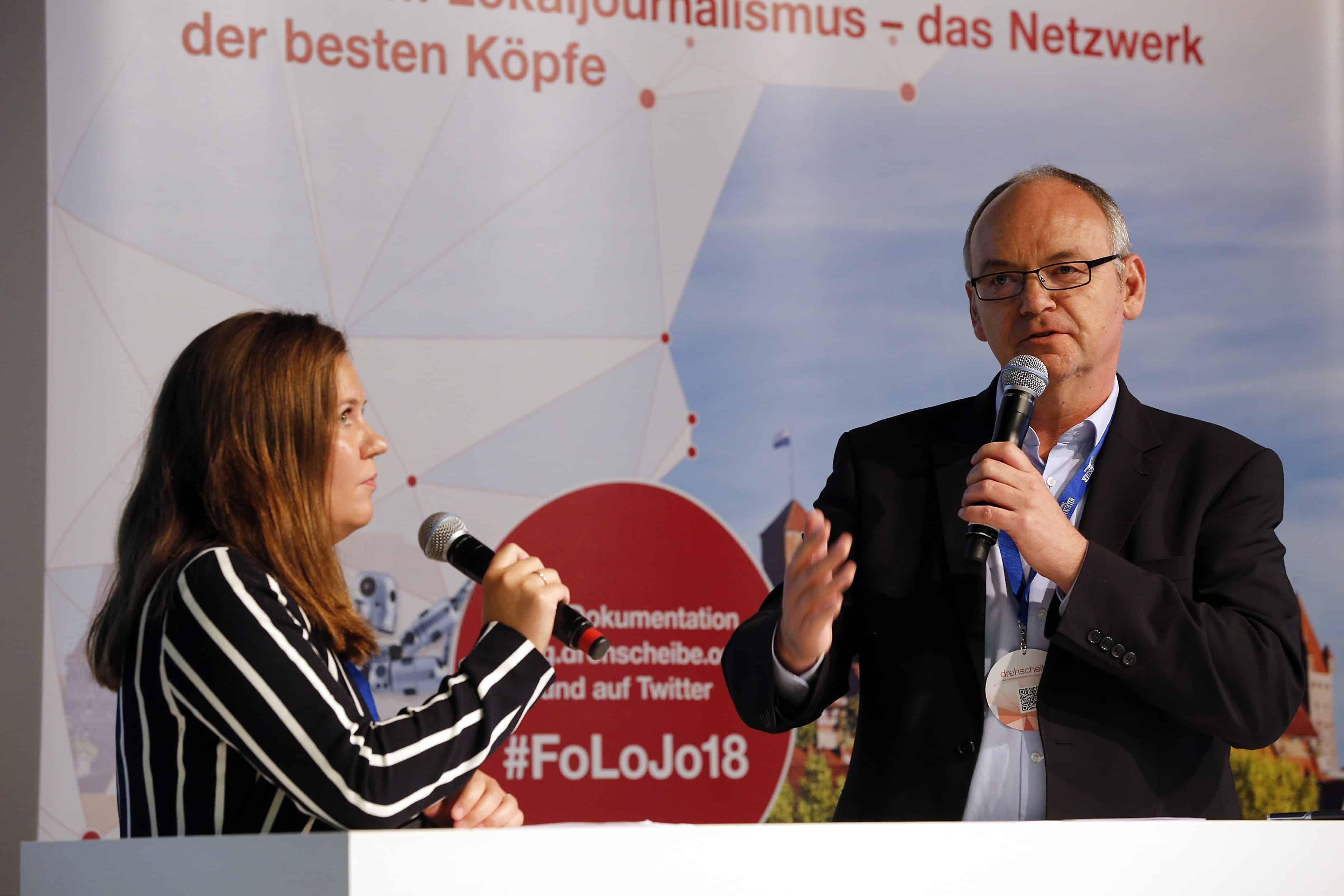 Lea-Verena Meingast und Andreas Tyrock