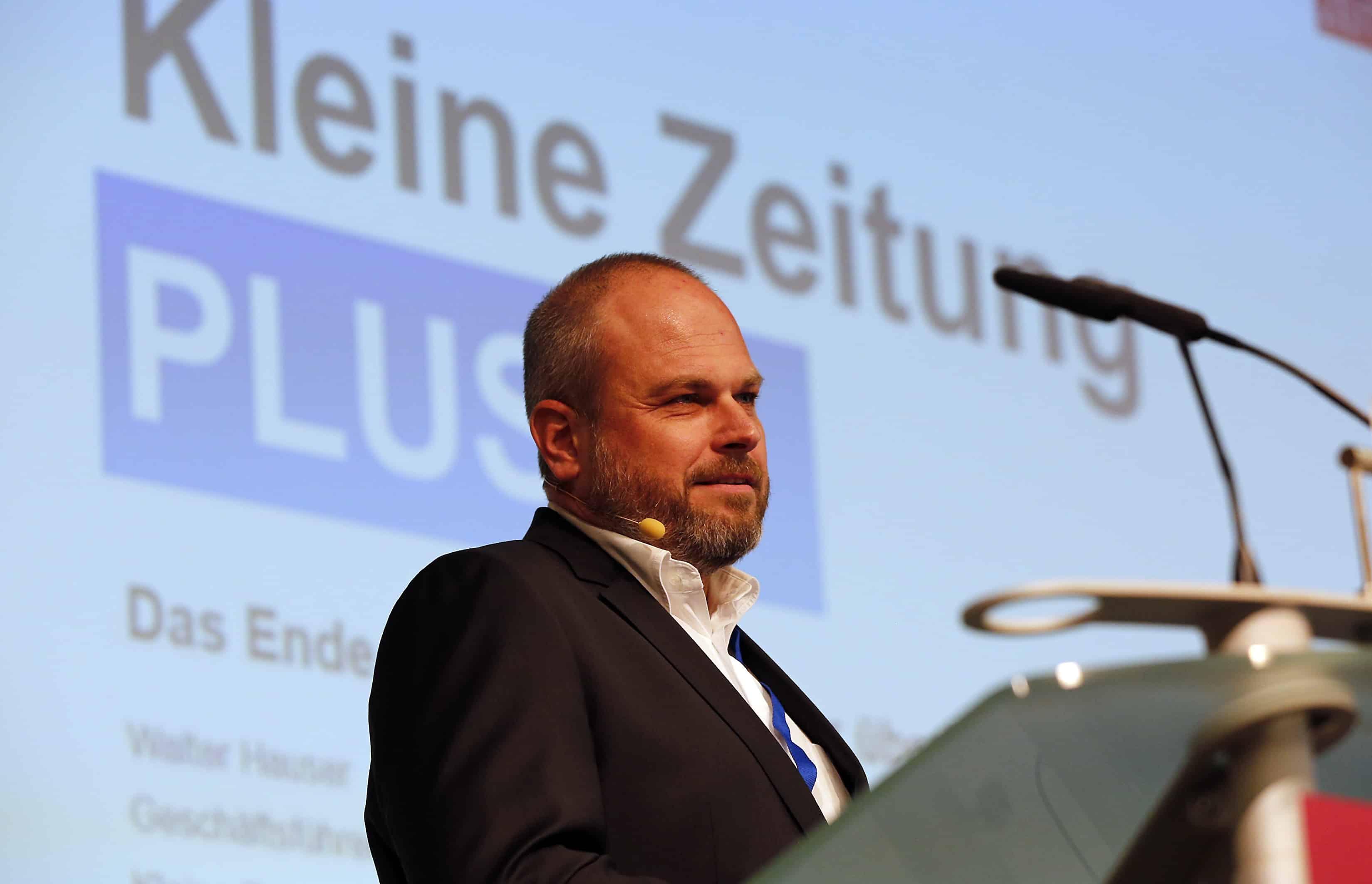 Walter Hauser von der Kleinen Zeitung aus Graz